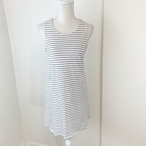 J. Crew Factory Striped Twist-Back Dress Sz S {LH}